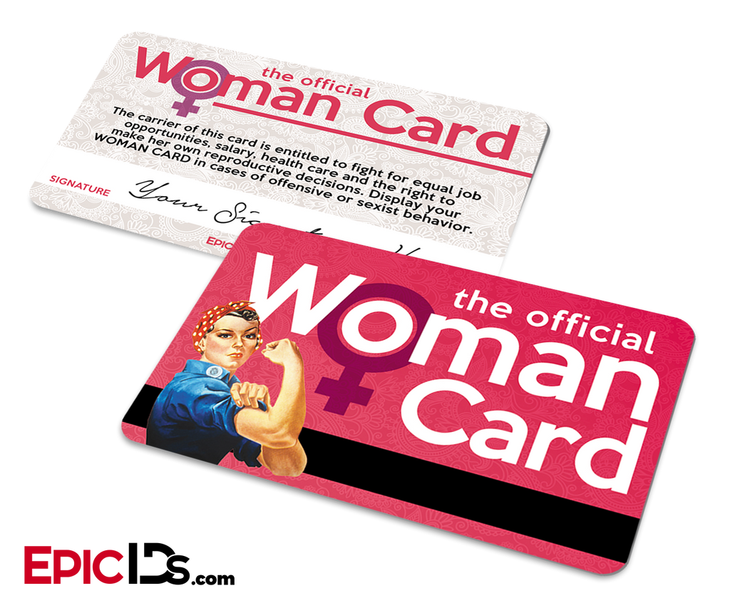 The Official Woman Card