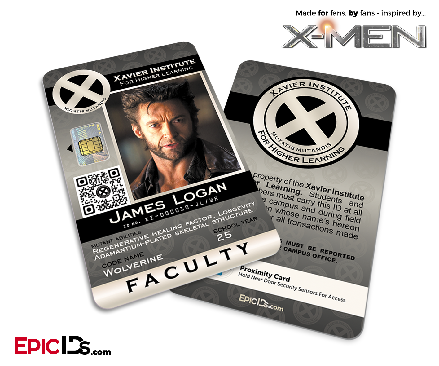 L Id Learning Faculty James - Ids Higher Card Epic For 'x-men' Xavier Institute