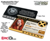 Xavier Institute For Gifted Youngsters 'X-Men' Student ID Card [Custom / Photo Personalized]