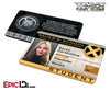 Xavier Institute For Gifted Youngsters 'X-Men' Student ID Card - Raven Darkholme / Mystique