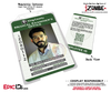 King County Medical Examiners Office 'iZombie' Cosplay Employee ID - Dr. Ravi Chakrabarti