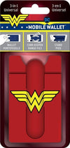 Wonder Woman Logo 3-in-1 Universal Mobile Phone Wallet