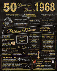 graphic about Printable 50th Birthday Signs called Chalkboard Indicators Small children Bash Printables Invites