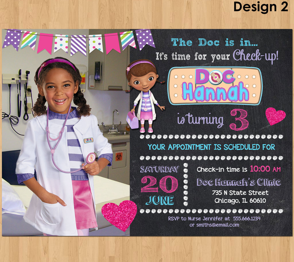 picture relating to Doc Mcstuffins Printable Invitations identified as Invites Little ones Occasion Printables Invites