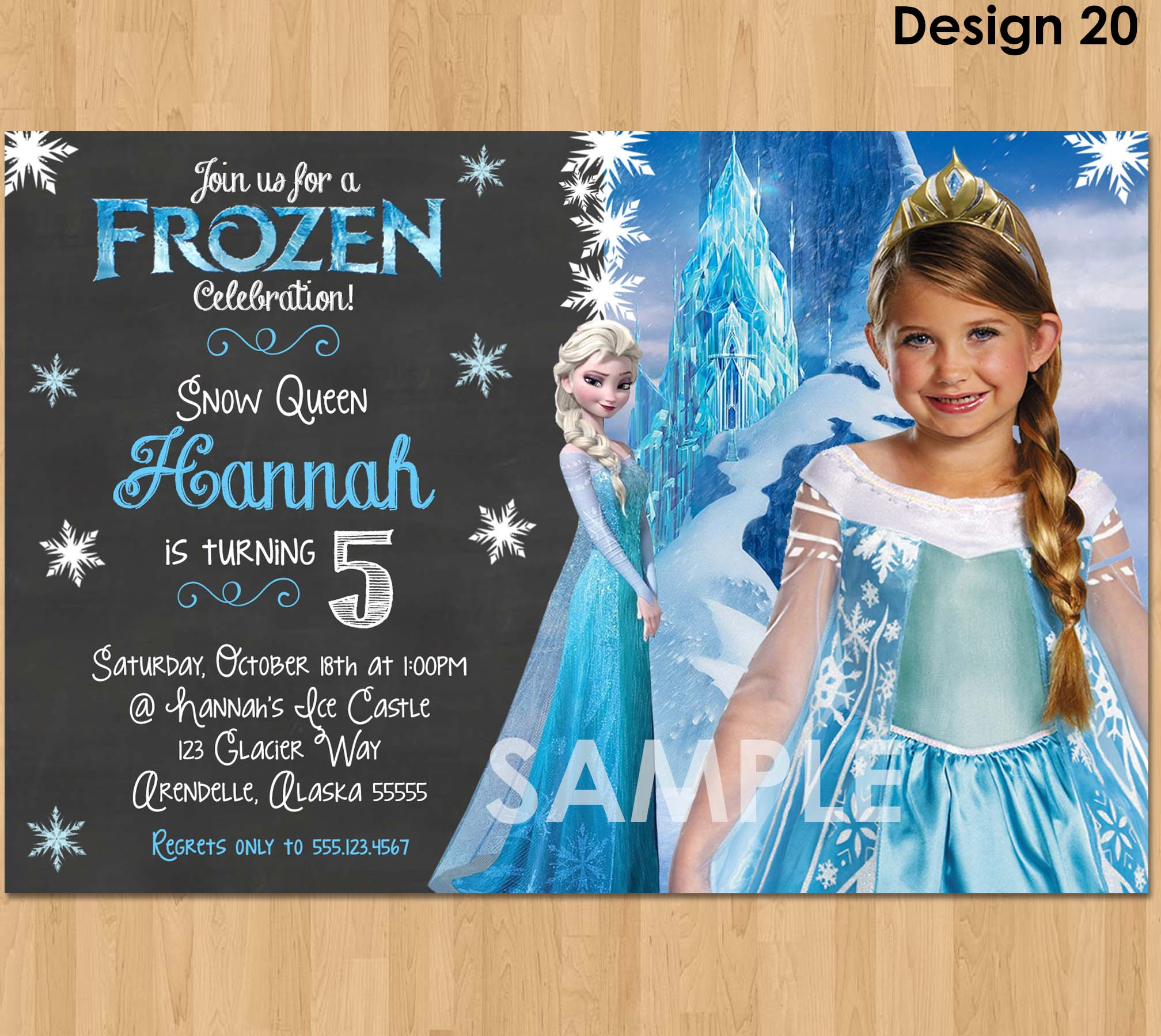 image relating to Printable Frozen Birthday Invitations titled Frozen Image Invitation - Frozen Chalkboard Invitation - Disney Frozen Birthday Invitation Celebration Invite Designs Printable Elsa Electronic Personalized