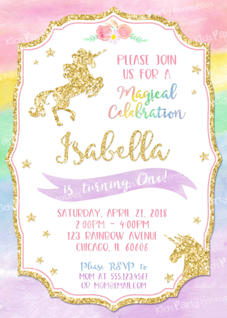 photograph relating to Unicorn Invitations Printable identify Minnie Mouse Birthday Invitation,1st Birthday Initial Bday Female, Red Chalkboard Invite Get together Printable