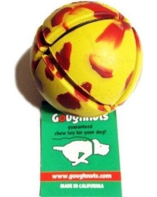 GoughNuts Ball - Yellow - Dog Sport Supply Company