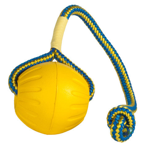 Large Swing 'n Fling DuraFoam Fetch Ball™ - Dog Sport Supply Company