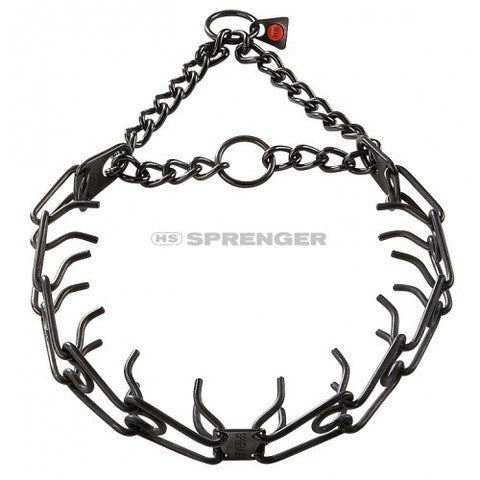 Herm Sprenger® Black Stainless Steel Prong(Pinch) Training Collar 3.2mm - Dog Sport Supply Company
