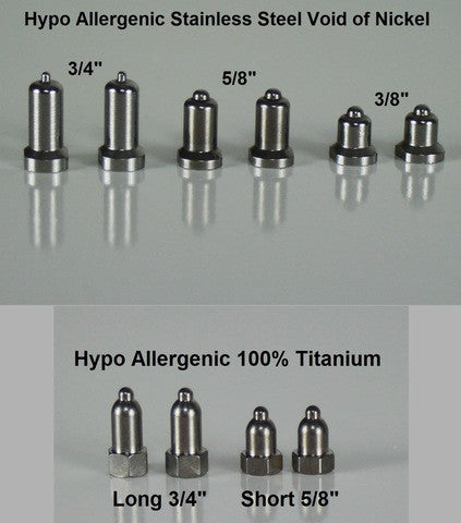 Hypo Allergenic Titanium Contact Points - Dog Sport Supply Company