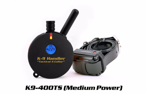 Tactical K9 Handler K9-400 E-Collar 1 Dog 3/4 Mile - Dog Sport Supply Company