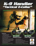 Tactical K9 Handler K9-800 E-Collar 1 Dog 1 Mile - Dog Sport Supply Company