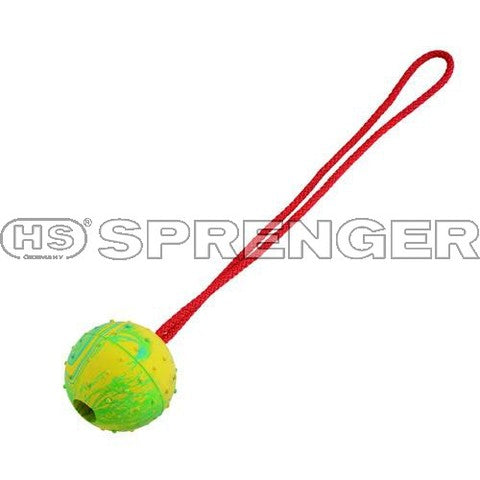 Herm Sprenger® Ball on Rope - Large - Dog Sport Supply Company