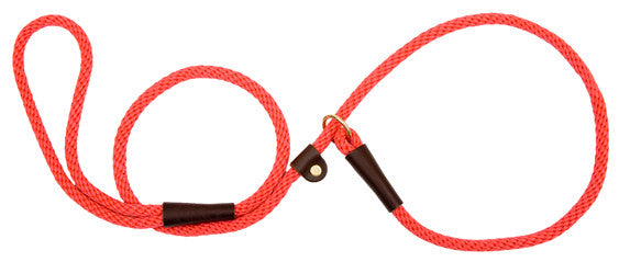 "Mendota® British Style Dog Slip Lead 1/2"" - Dog Sport Supply Company"