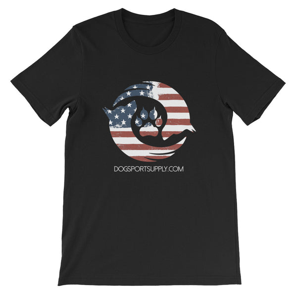 Dog Sport Supply Company -  Patriotic T-Shirt - Dog Sport Supply Company