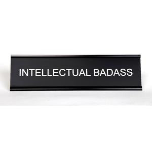 Love Peridot Desk Plate - Intellectual Badass