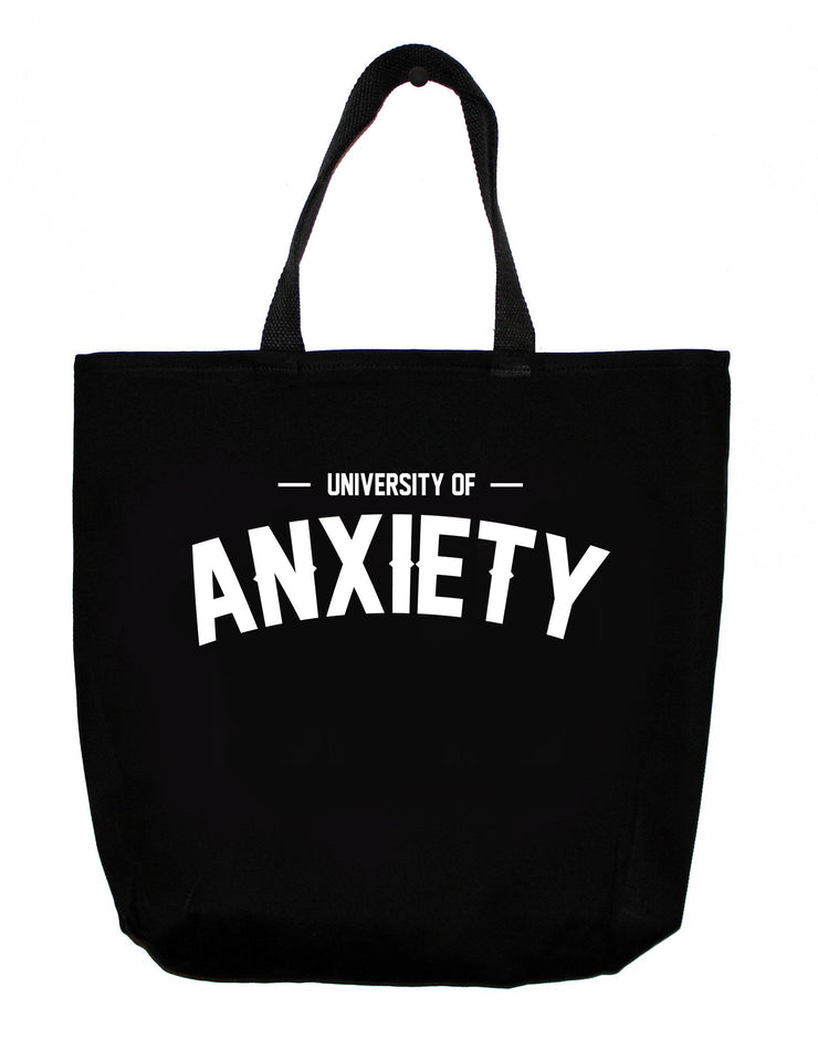 Greeting Cards University of Anxiety Tote