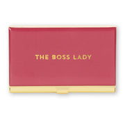 The Boss Lady Business Card Holder - Love Peridot