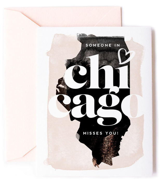 Chicago Misses You Greeting Card