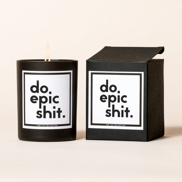 Do Epic Shit Candle - Love Peridot