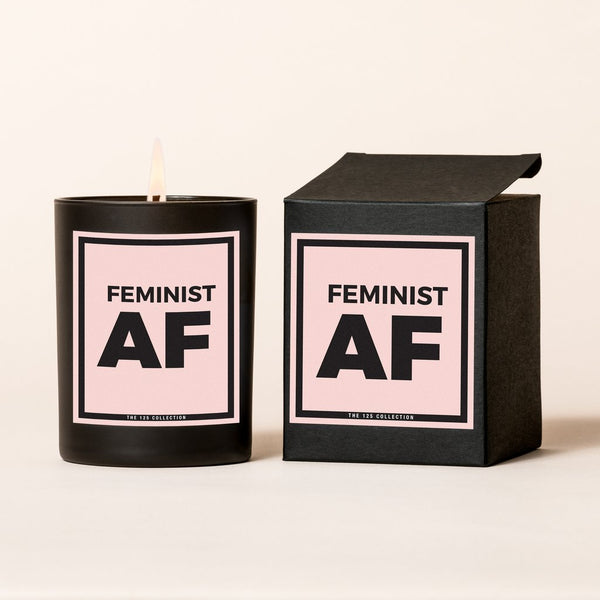 Feminist AF Candle - Love Peridot
