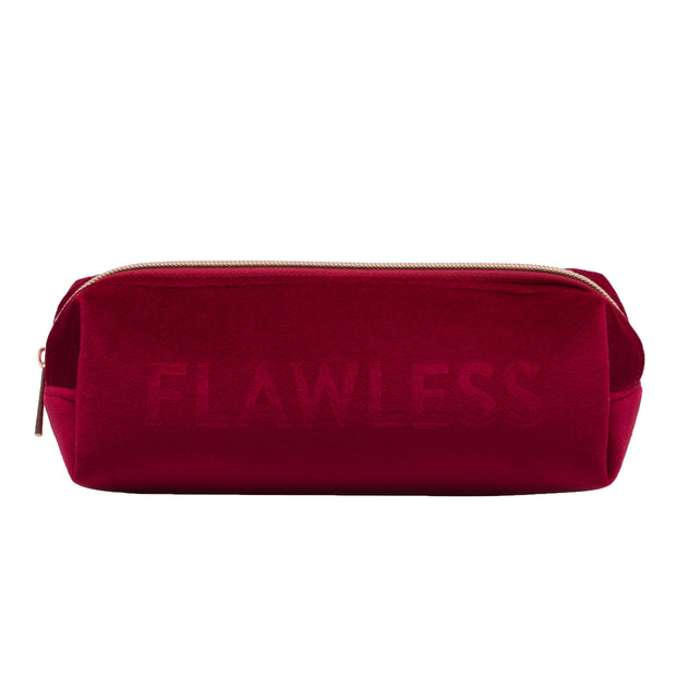 Love Peridot Crimson Cosmetic Pouch