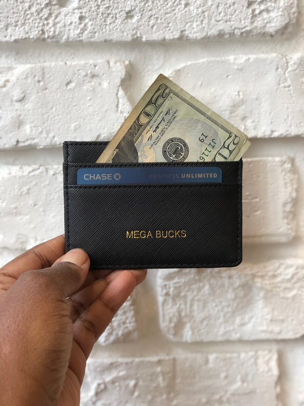 Mega Bucks Card Wallet - Love Peridot