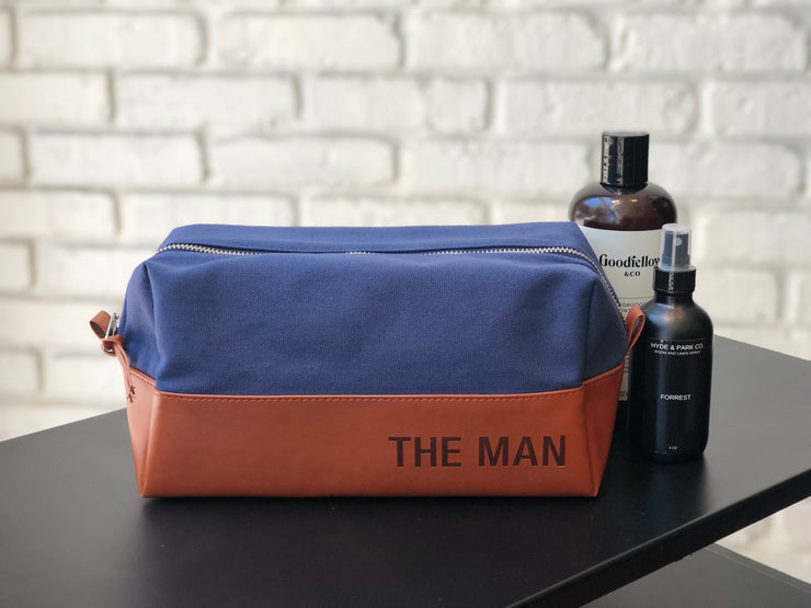 The Man Dopp Bag - Love Peridot