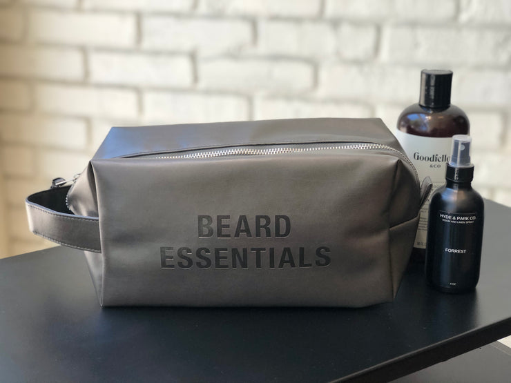 Beard Essentials Dopp Bag - Love Peridot
