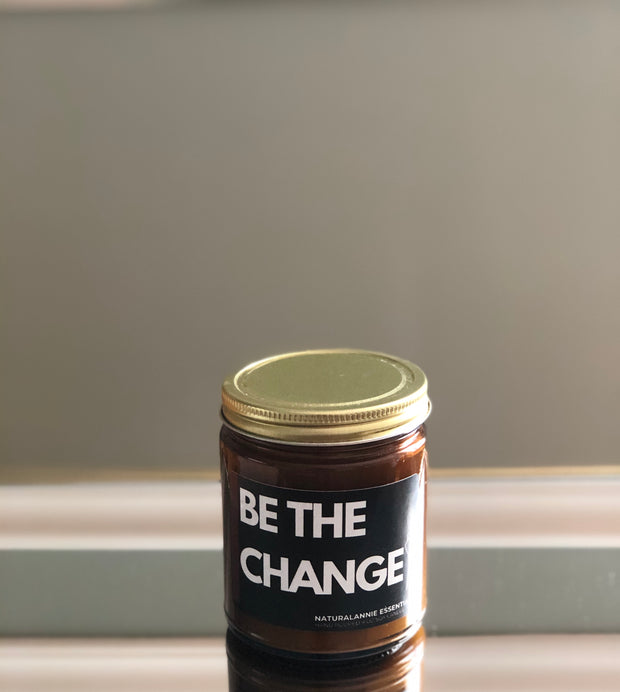 Be the change candle - love peridot