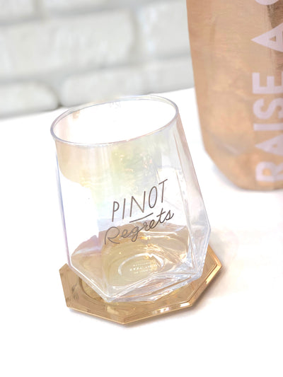 Love Peridot Stemless Wine Glass