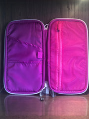 Lilac Travel Document Wallet