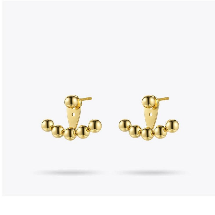 Crawler Stud Earrings