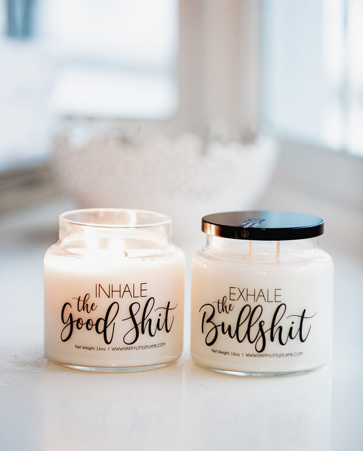 Inhale Exhale Candles