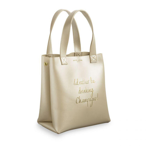 I'd Rather Be Drinking Champagne Lunch Bag - Love Peridot