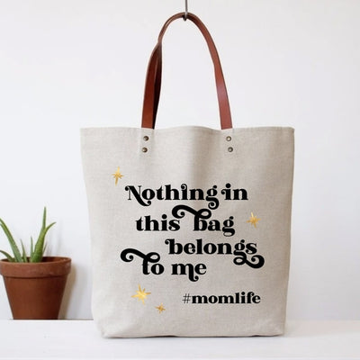 Mom Life Tote Bag - Love Peridot