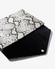 Python Laptop Clutch - Love Peridot
