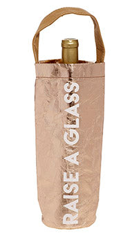 Love Peridot Raise a Glass Wine Bag
