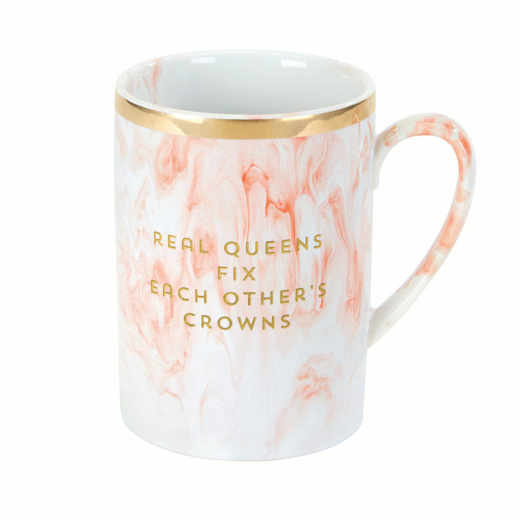 Real Queens Marble Mug