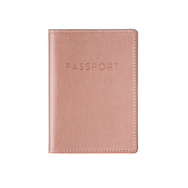 Passport Cover - Rose Gold