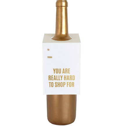 Bottle Gift Tag