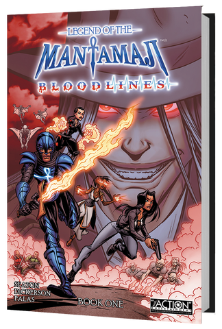 Pre-Order Legend of the Mantamaji: Bloodlines Book One