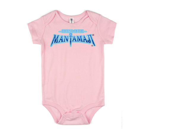 Infant Superhero Logo Onesie - Legend of the Mantamaji