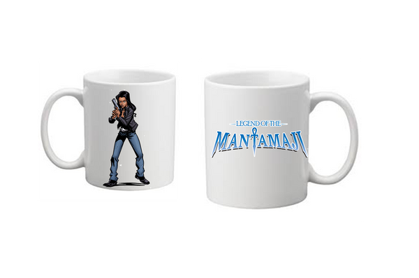 Legend of the Mantamaji Superhero Coffee Mug