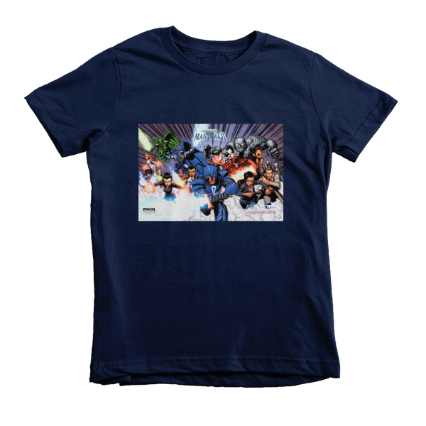 Kid's Legend of the Mantamaji Superhero Graphic T-Shirt - Unisex