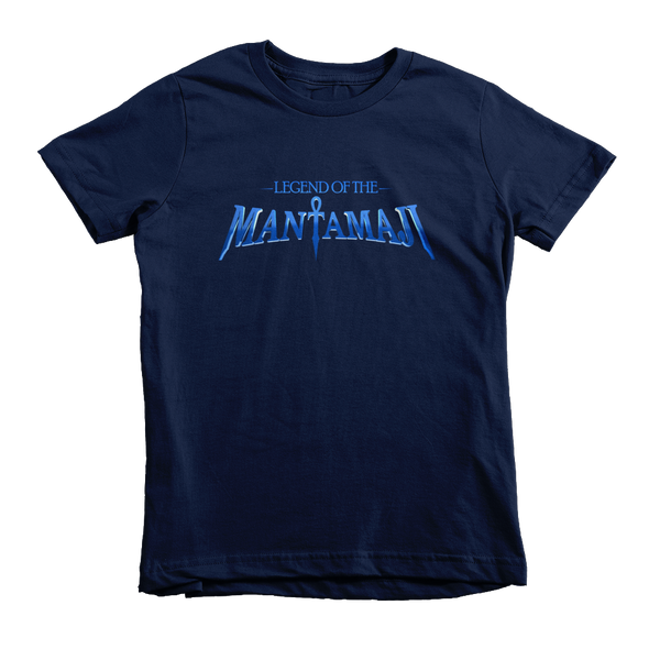 Legend of the Mantamaji Kids Superhero Logo T-Shirt -  Unisex