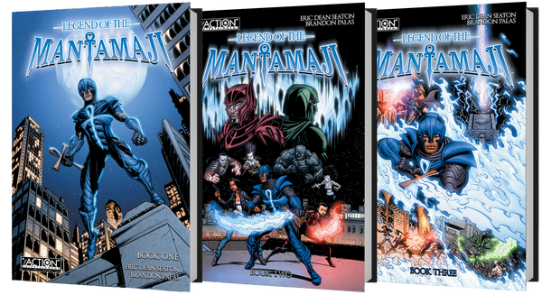 Legend of the Mantamaji Superhero Graphic Novel Book Bundles