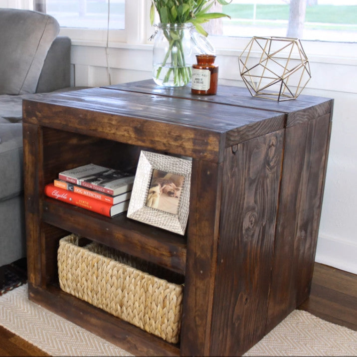 DIY Project - Rustic Side Table