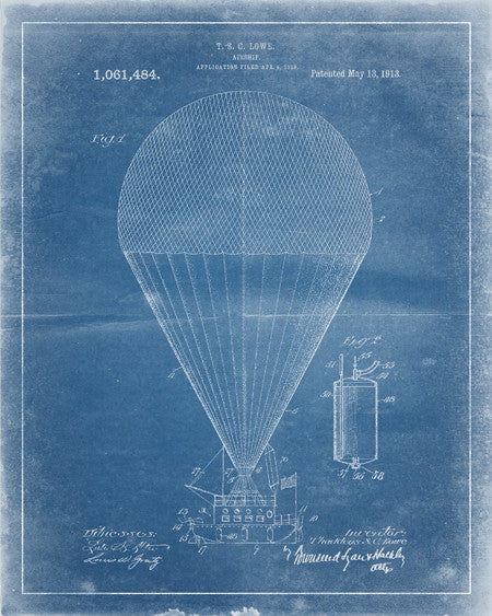 Airship Patent Print - IndustrialPrints