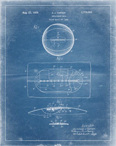 Basketball Patent Print - IndustrialPrints